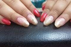 Bridal Gel Nail Extension