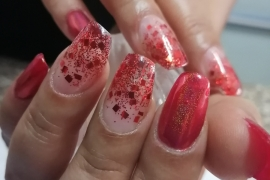 Gel-Nail-Extention-Red-Glitter-Crome-Sparkle-Migliore-Nails-Nail-Art-in-Kathmandu-Nepal-3