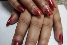 Gel-Nail-Extention-Red-Glitter-Crome-Sparkle-Migliore-Nails-Nail-Art-in-Kathmandu-Nepal-6
