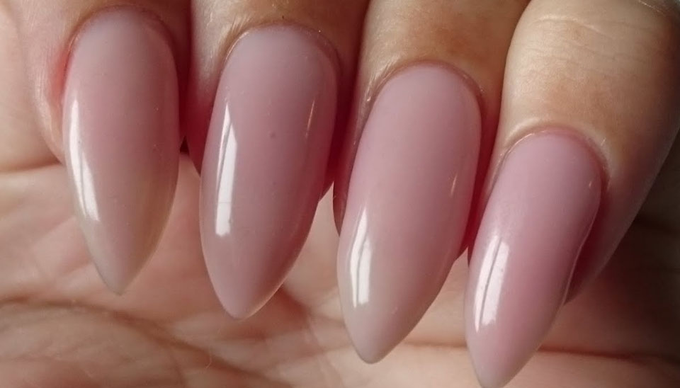 Natural Nail With Clear Builder Gel