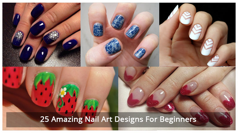 25 Amazing Nail Art Designs For Beginners - Nail Art in Kathmandu Nepal - Migliore Nails