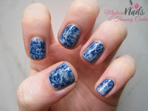 Plastic Wrap - Nail Art in Kathmandu Nepal - Migliore Nails